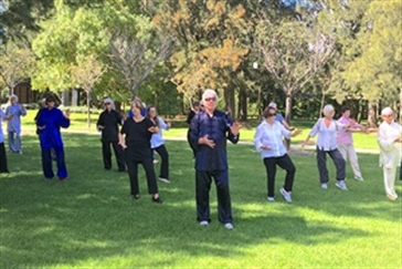 Spring into Summer Series Tai Chi