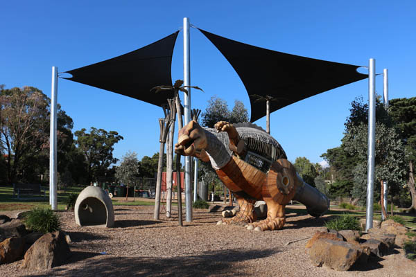 Mimi Dinosaur Playground McNish Reserve Yarraville Photo 2.jpg