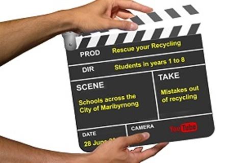 Rescue your Recycling video competition image